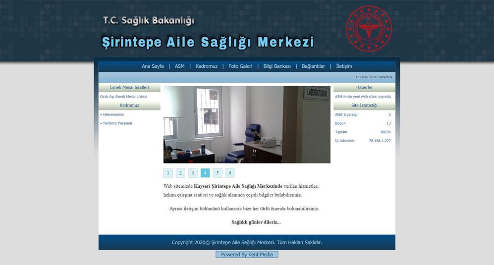 ASM Sitesi Web Paketi