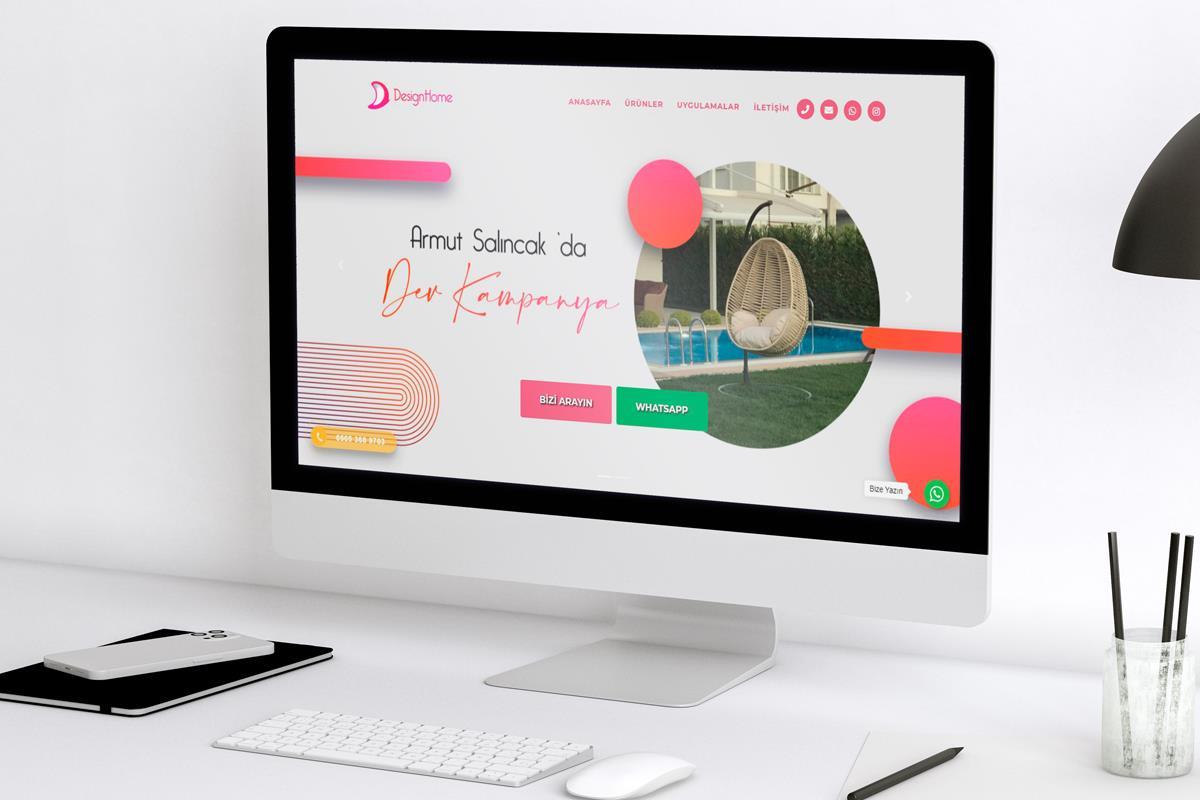 Landing Page Web Sitesi